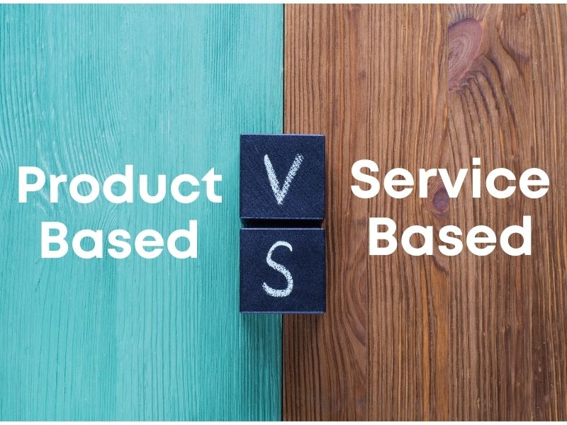 Difference Between Product Based and Service Based Company in India
